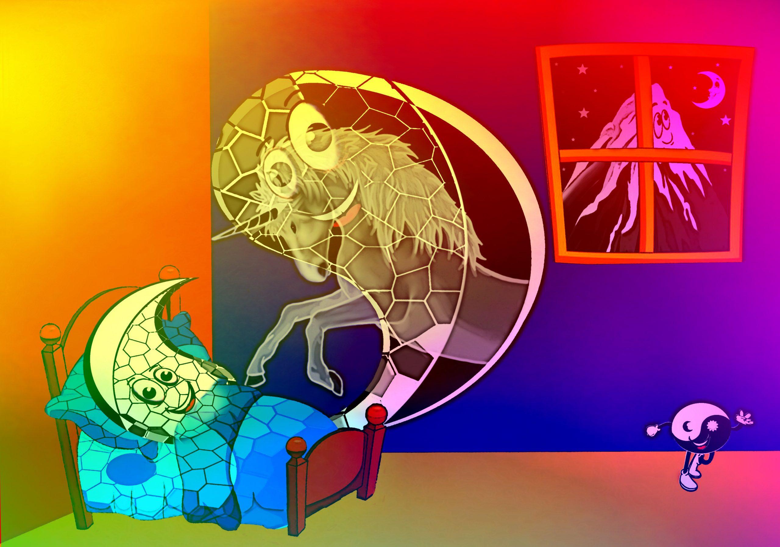 Yin en Yang reizen naar Aarde